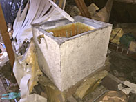photo of asbestos services work